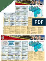 Calendario UNEFA 2014