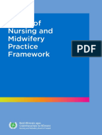 Scope of Nursing Midwifery Practice Framework