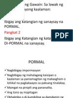 Sanaysay Powerpoint