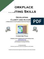 Workplace Writing Skills1