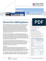 12600 Appliance Datasheet