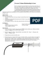Lab 10 CHM 130LL Boyle's Law Lab w Logger Pro Guide w Answer Key