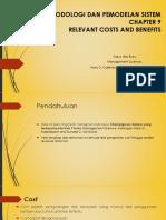 RELEVANT COSTS AND BENEFITS (Champignon Galore)