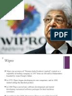 Marketing ion - WIPRO