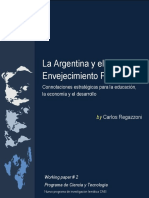 Carlos Regazzoni - La Argentina y el Envejecimiento Poblacional