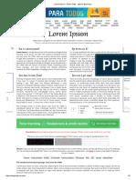 Lorem Ipsum - All the Facts