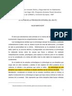 LEIDA_La Víctima en La Prevención Del Delito. Hilda Marchiori