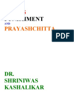 Stress Punishment and Prayashchitta Dr. Shriniwas Kashalikar