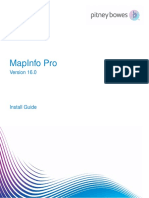 Map Info Pro Install Guide