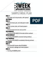8wkMBT Sample Meal Plan