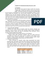 Menentukan Luas Pengujian Dan Mendokumentasikan Pekerjaan Audit