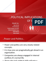 Political Implications of Power