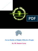 Seven Habits of Highly Effective People[1]