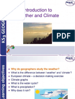 An Introduction to Weather and Climate