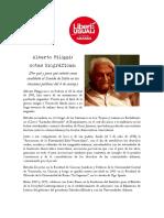 Candidatura Alberto Filippi Senatore Italiano 2018
