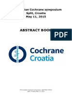 2105 Croatian Cochrane Symposium Abstract Book