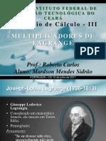 Multiplicadoressss De Lagrange.pdf