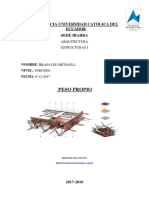 Estructuras Peso Propio