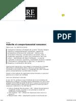 2.SINTEZA Rezultate Analiza Interact 2005 Valorile Si Comportamentul Romanesc