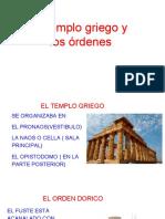 El Templo y Los Ordenes Griegos