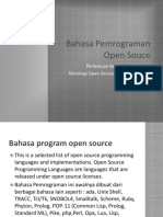TOS 04 Bahasa Pemrograman Open Source EL4