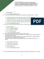 Ncfm Model Test Paper Capital Market