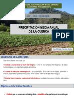 Precip Media Anual de La Cuenca