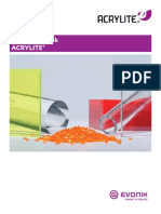 Acrylite Sheet Sales Handbook