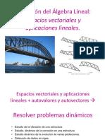 Espacios Vectoriales y Aplicaciones Lineales