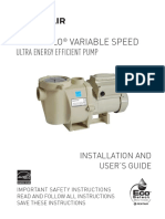 IntelliFlo Variable Speed Installation and Users Guide English (3)
