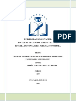 Manual de Inversiones Auditoria