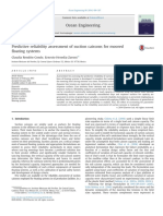 Predictive Reliability Assessment of Suction Caissons for Moored