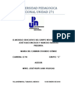 EL MODELO EDUCATIVO DEL GRUPO REVOLUCIONARIO
