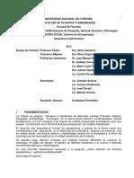 Sociología 2013 (UNC)