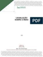 Legislação Indígena Brasileira 2013