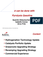 003what Can Be Done With Pyrolysis Gasoline Axens Presentation Ertc Pet 2003 Paris