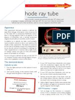 Accelerate Cathode Ray Tube 73189