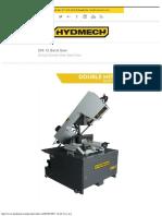 Hydmech – Dm-12 Band Saw