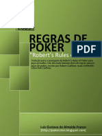Regras de Poker Robert s Rules of Poker BR