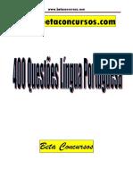 QuestõesTreinamento Lingua Portuguesa