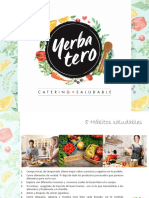 Yerbatero - Catering Saludable