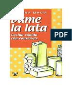 Macia Cristina - Dame La Lata