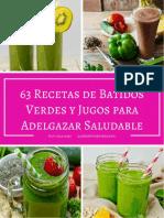 63 Recetas de Batidos Verdes y Jugos Para Adelgazar Saludable.pdf