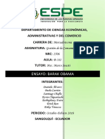 Grupo n1 Ensayo Barak Obama