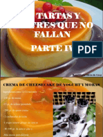 Rosa Gisela Olivis de Gray - 12 Tartas y Postres Que No Fallan, Parte IV