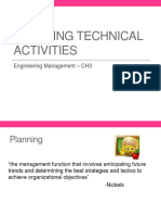 3 Planning Technical Activities
