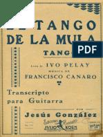 Canaro-Gonzalez El Tango de La Mula