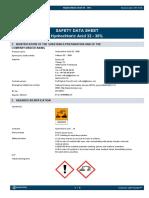 SafetyDataSheetHydrochloricAcid32-36UK