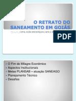 O Retrato Do Sanamento Em Goiás