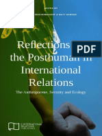 Reflections on the Posthuman in IR E IR